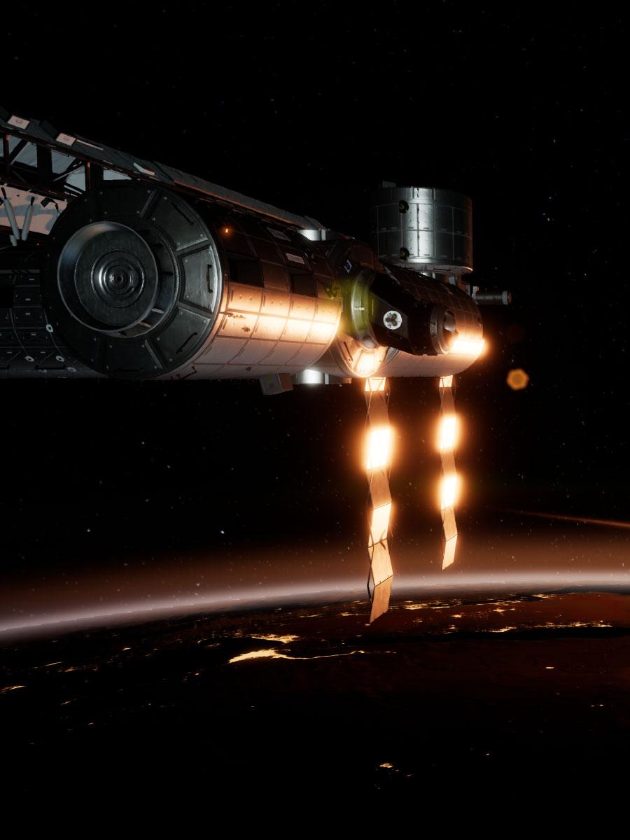 Jeu réalité virtuelle ISS Rescue I-REALITY à Lyon