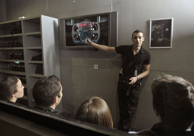 Briefing Simulateur Course Automobile