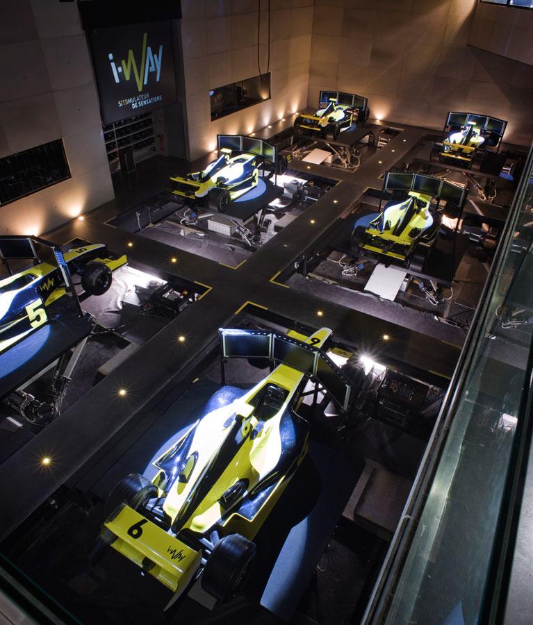 Simulateur Formule 1 - Une course sans merci