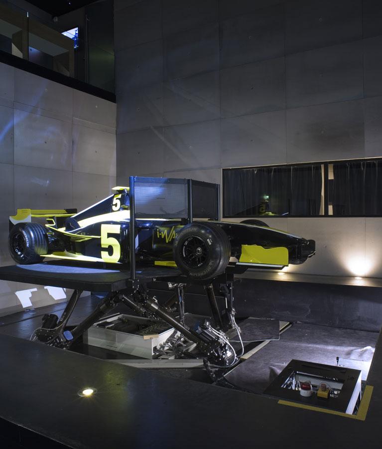 Simulateur Formule 1 - Une technologie unique