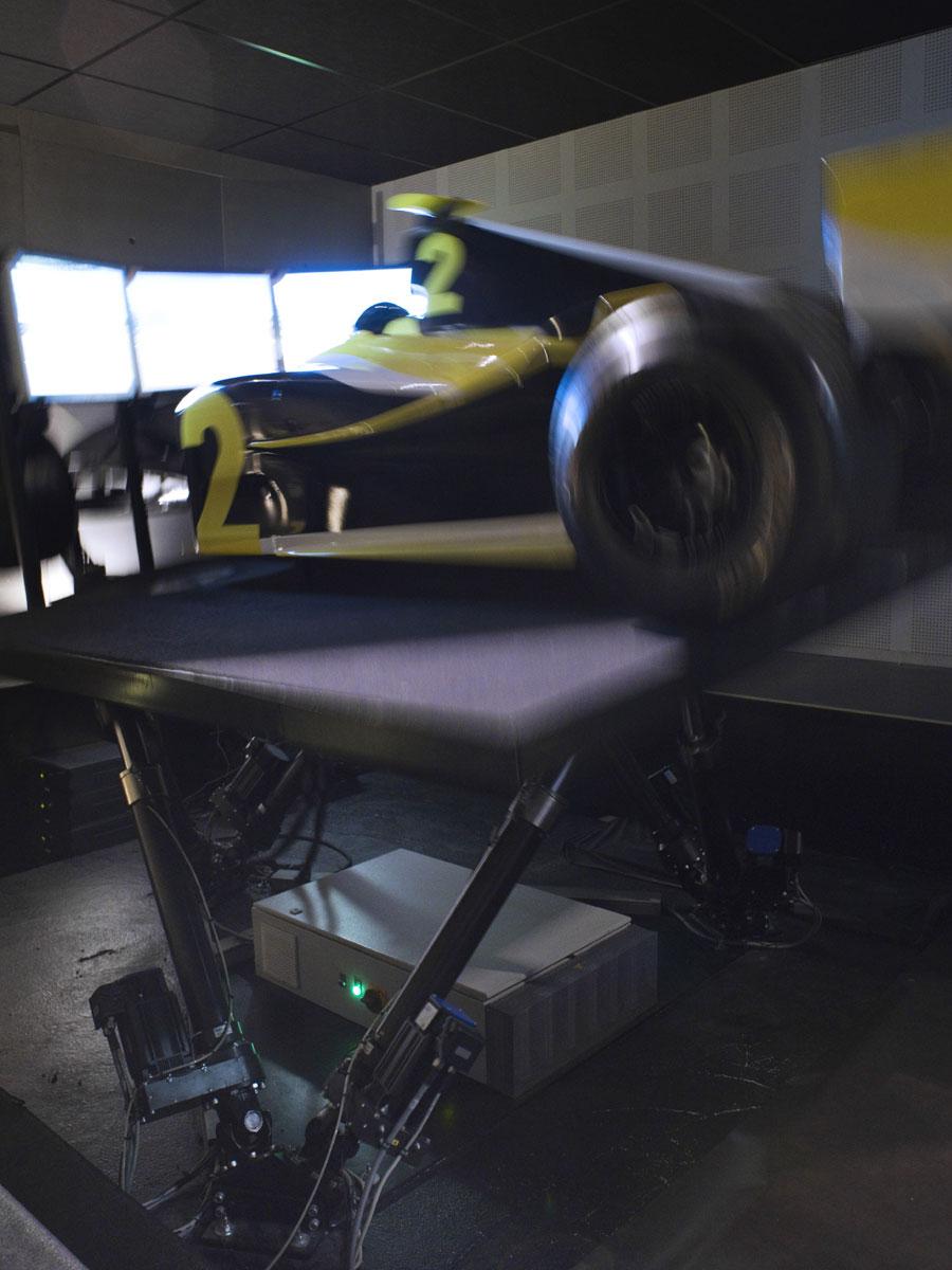 Simulation Formule 1