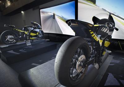 Simulateur Moto GP
