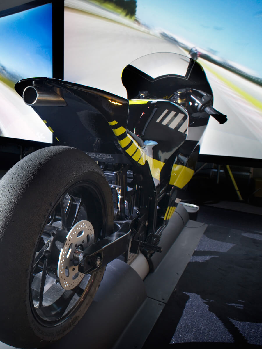 Simulateur Moto GP I-WAY