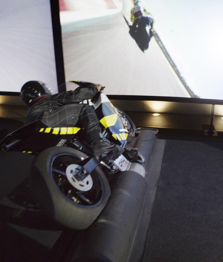 Simulateur Moto GP - Des sensations extrêmes