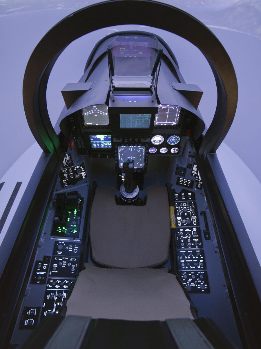 Simulateur Avion de Chasse Lyon