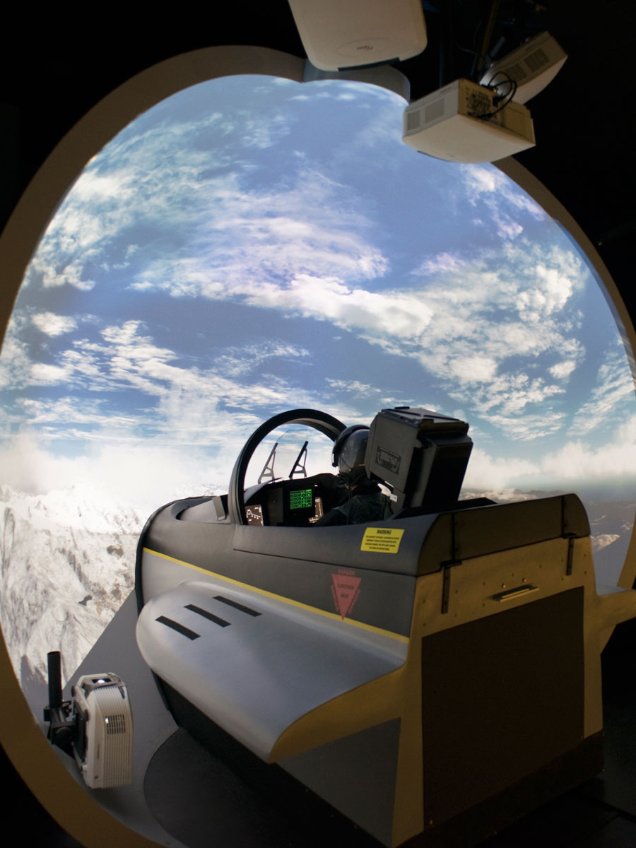 simulateur de vol en avion simulateur pilotage d 39 avion de chasse i way. Black Bedroom Furniture Sets. Home Design Ideas