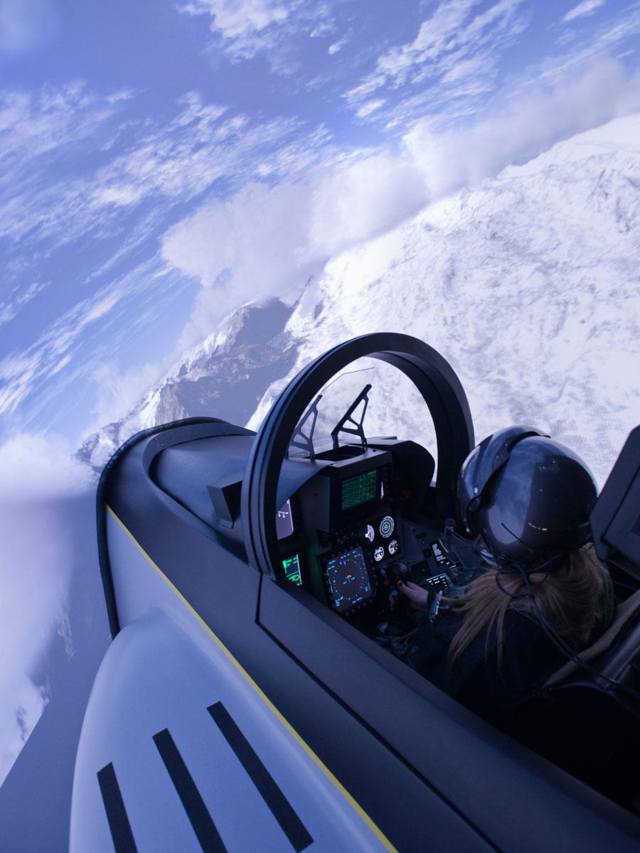 Piloter un F18 Super Hornet