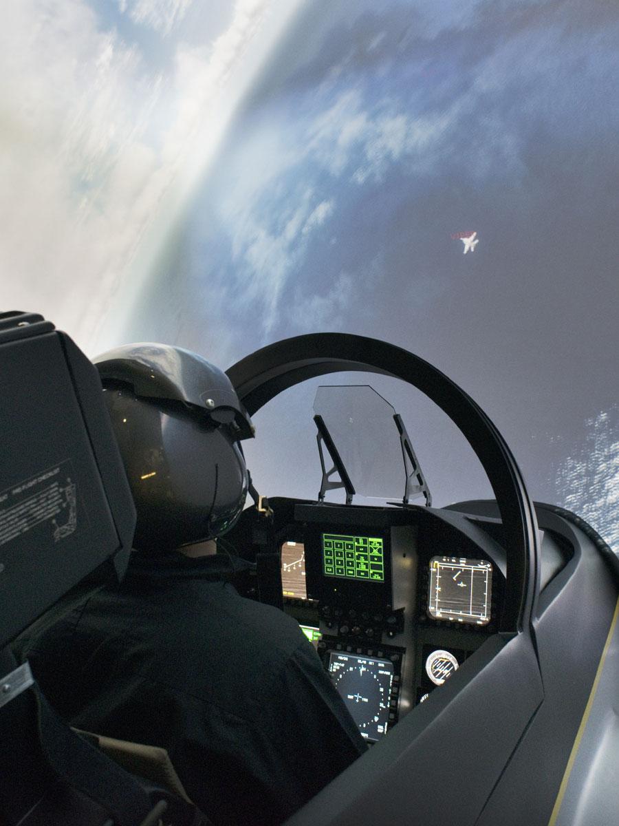 Simulateur Avion de Chasse I-WAY