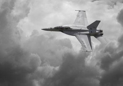 Simulateur F18 Super Hornet