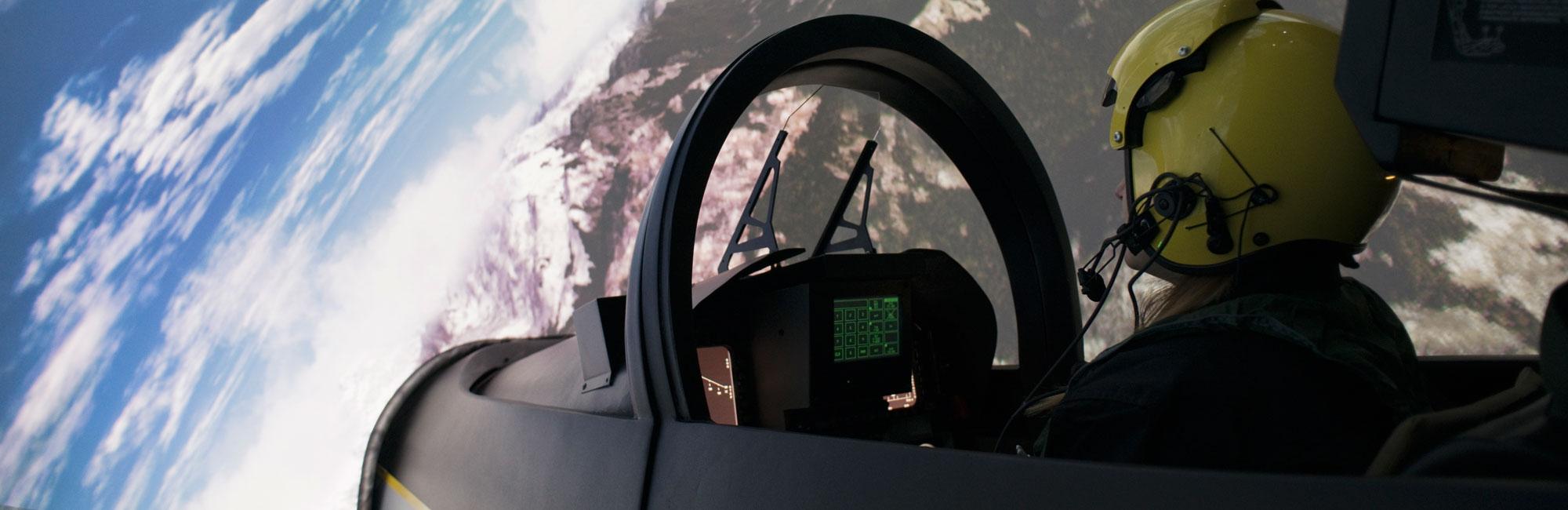 Simulation Avion de Chasse Lyon