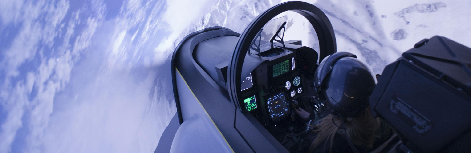 Simulation Avion de Chasse F18